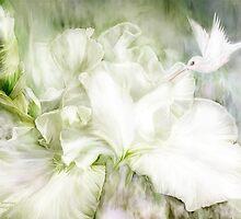 Iris - Goddess Of Innocence by Carol  Cavalaris