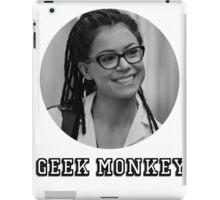I'm the geek monkey now iPad Case/Skin