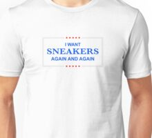 I Want Sneakers Again and Again Unisex T-Shirt