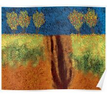 0113 Abstract Landscape Poster