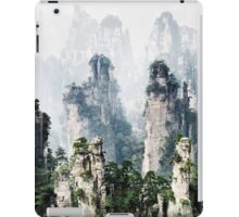 Floating mountains Zhangjiajie National Forest Park art photo print iPad Case/Skin