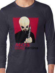 MOS EISLEY CANTINA FAST FOOD T-SHIRT #1 Long Sleeve T-Shirt
