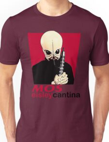 MOS EISLEY CANTINA FAST FOOD T-SHIRT #1 Unisex T-Shirt