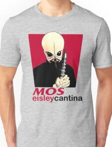 MOS EISLEY CANTINA FAST FOOD T-SHIRT #1 Unisex T-Shirt