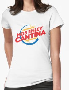 MOS EISLEY CANTINA FAST FOOD T-SHIRT #2 Womens Fitted T-Shirt
