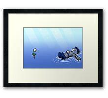Peaceful Lakes Framed Print