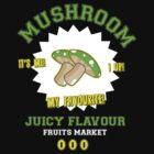 Mushroom Juicy Flavour by Creatiboom