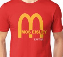 MOS EISLEY CANTINA FAST FOOD T-SHIRT #3 Unisex T-Shirt