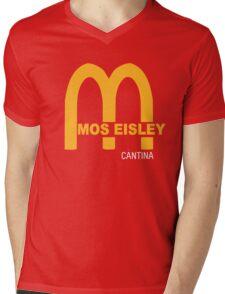 MOS EISLEY CANTINA FAST FOOD T-SHIRT #3 Mens V-Neck T-Shirt