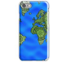 World Map Mandalas iPhone Case/Skin