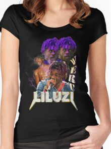 LIL UZI VERT VINTAGE TOUR T SHIRT TEE  Women's Fitted Scoop T-Shirt
