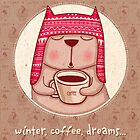 winter, coffee, dreams by moryachok
