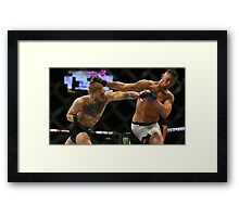 Conor McGregor vs. Nate Diaz UFC 202 | 2016 Framed Print
