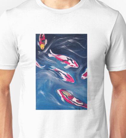 Koi In Motion Unisex T-Shirt