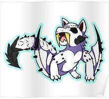 Barioth Chibi Fanart Monster Hunter Poster