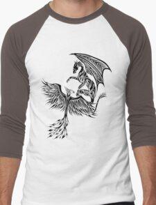 Dragon Fighting 578 Men's Baseball ¾ T-Shirt