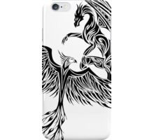 Dragon Fighting 578 iPhone Case/Skin