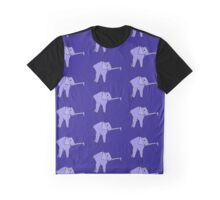 Origami Elephant Graphic T-Shirt