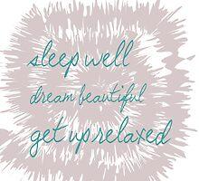 Sleep well.............. by RosiLorz