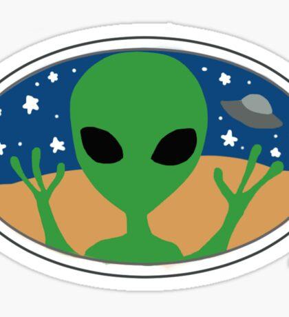 aesthetic alien Sticker