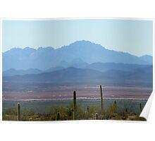 Tucson Mountains  Poster