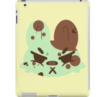 Angry Brute, Mintchip Bun iPad Case/Skin