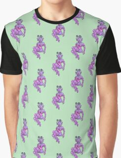 Sclera Irisanian in Pink Graphic T-Shirt