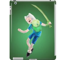 Yut! Finn the Human and the grass sword | Adventure Time iPad Case/Skin