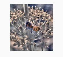 Honey bee on chive flower, hand coloured IR Unisex T-Shirt