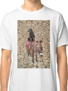Travelling Donkey and Friend Classic T-Shirt
