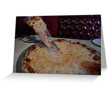 PIZZA PIZZA (NICEJOBDESIGNS Greeting Card