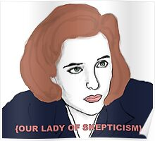 Our Lady of Skepticism  Poster