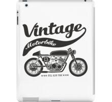 vintage motobike iPad Case/Skin