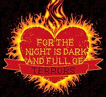 For the Night is Dark by Eren