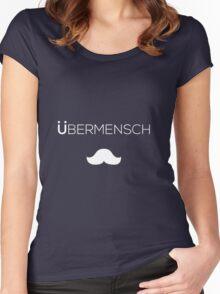 Nietzsche Ubermensch Shirt Women's Fitted Scoop T-Shirt
