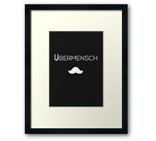 Nietzsche Ubermensch Shirt Framed Print