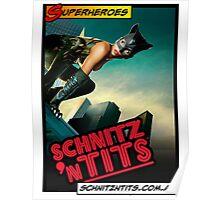 Super Heroes - Cat Woman Poster