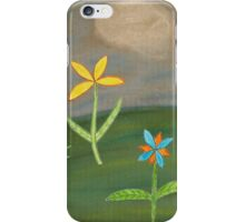 Palm Trees and Flowers iPhone Case/Skin