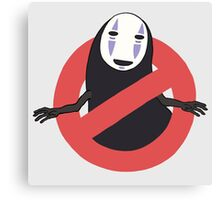 No No Face  Canvas Print