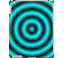 Aqua 3D Hoops iPad Case/Skin