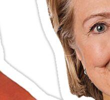 Shrimp Hillary Sticker