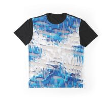 Scottish Saltire Flag Texture Design Graphic T-Shirt