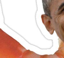Shrimp Obama Sticker