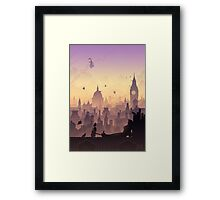 Wind's in the East Framed Print
