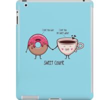 sweet couple iPad Case/Skin