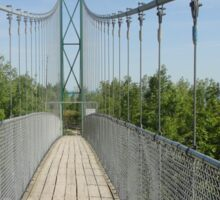 Suspension Bridge Sticker