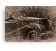 Paddock Car Canvas Print