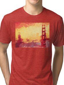 Bold San Francisco Tri-blend T-Shirt