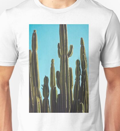 At the Cactus Garden Unisex T-Shirt