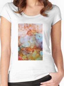 abstract art 2 Women's Fitted Scoop T-Shirt